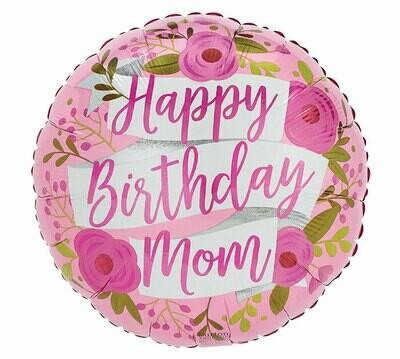 "17"" Bella Medre Happy Birthday Balloon"
