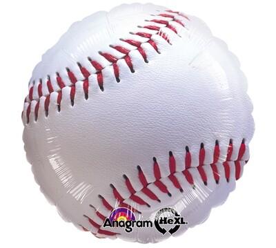 """17"""" Baseball Shape Balloon"""