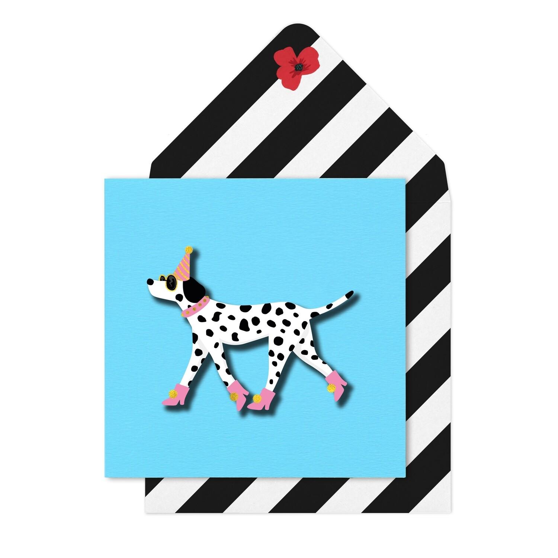 Dalmation Card