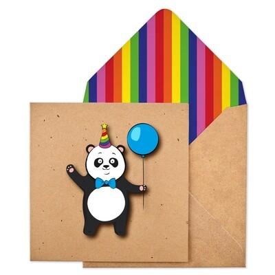 Birthday Panda Card