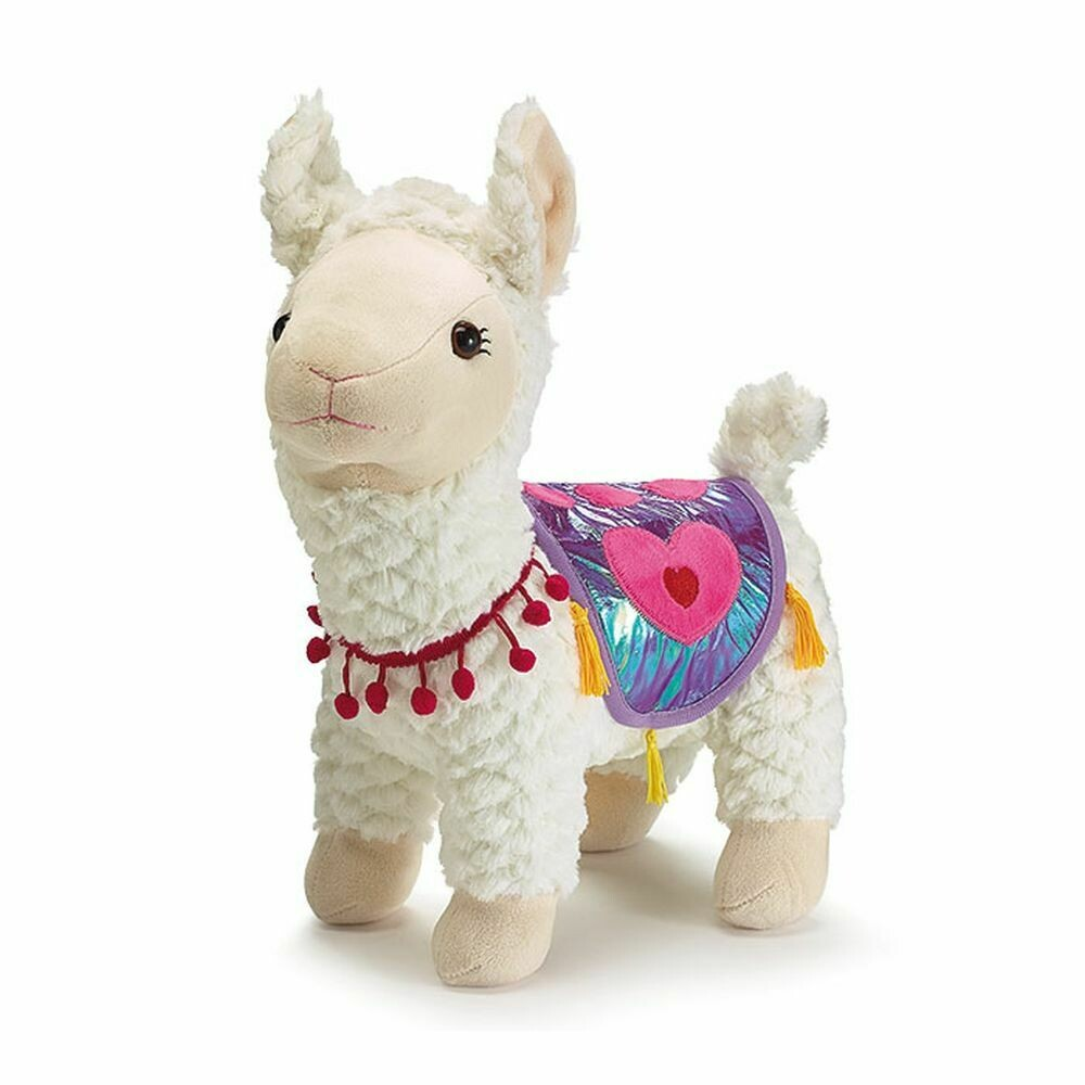 "15"" Plush Standing Llama"