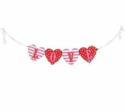 """LOVE 41"""" Pkg Air-Fill Shape Balloon"""