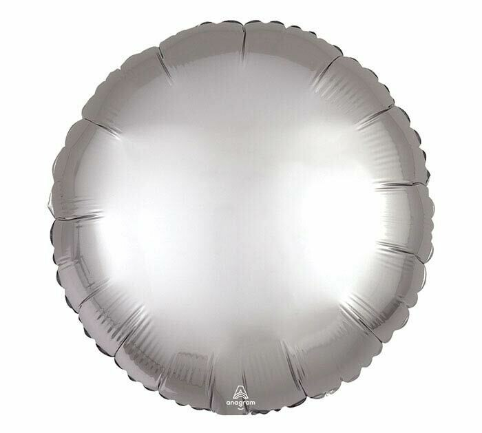 "17"" Solid Satin Luxe Round Balloon"