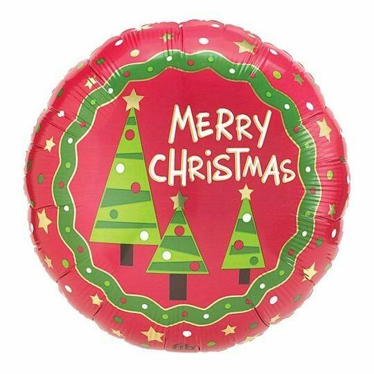 "18"" Christmas Jingle Balloon"