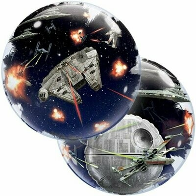 "22"" Star Wars Death Star Deco Bubble Balloon"