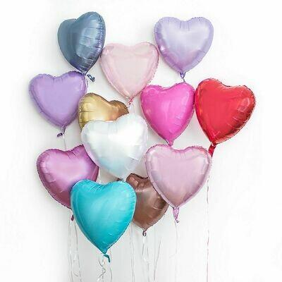 "18"" Solid Heart Balloon"