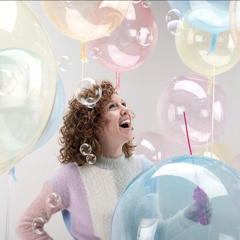 """18"""" Crystal Clearz Balloon 93CC18"""