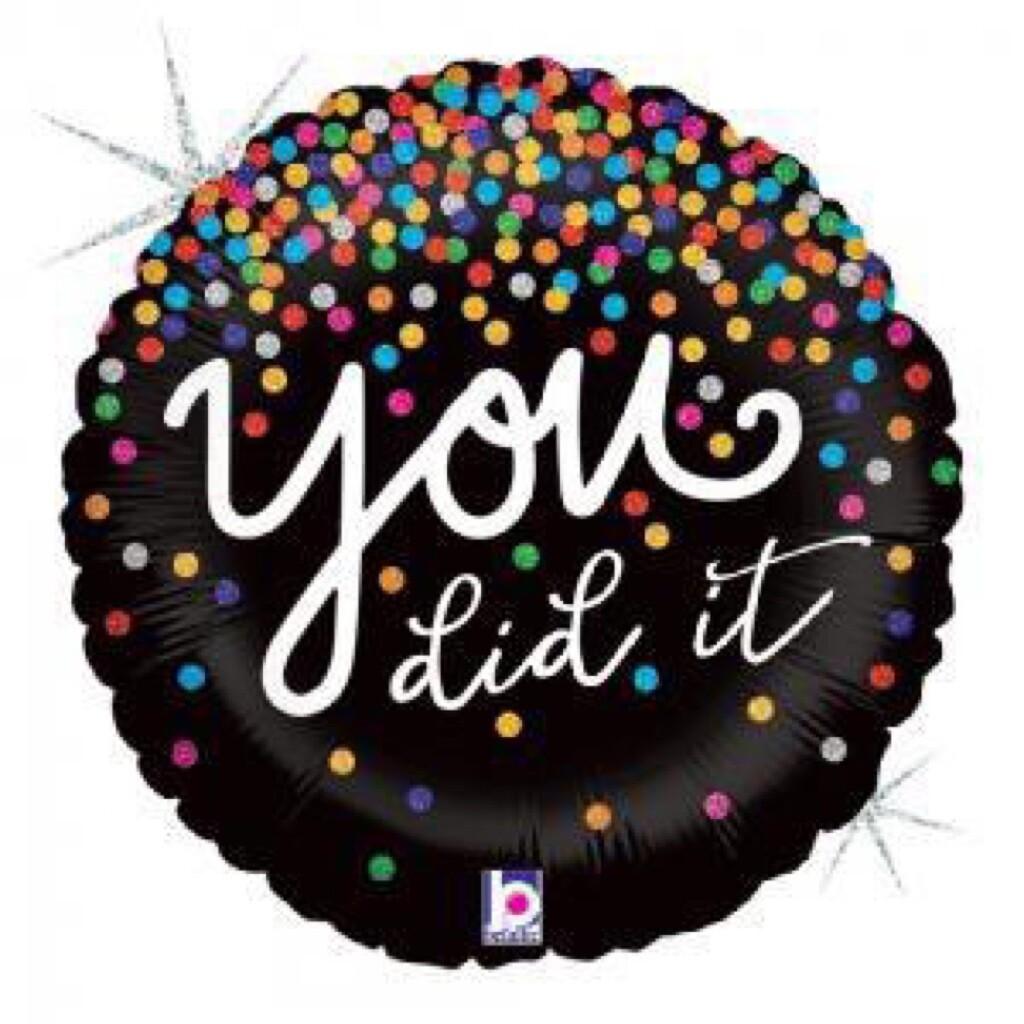 """18"""" You Did It Confetti"""