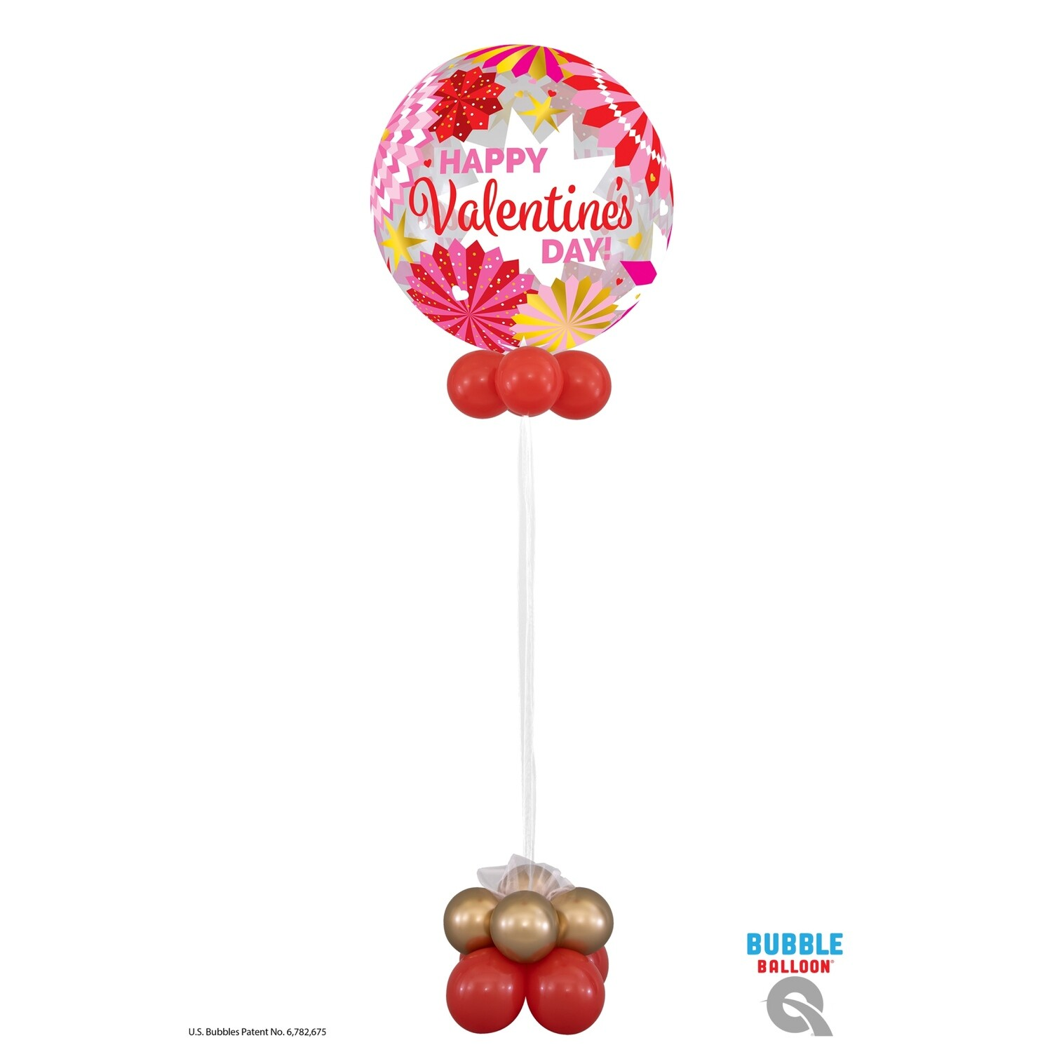 Valentines Day Balloon Bouquet Designs