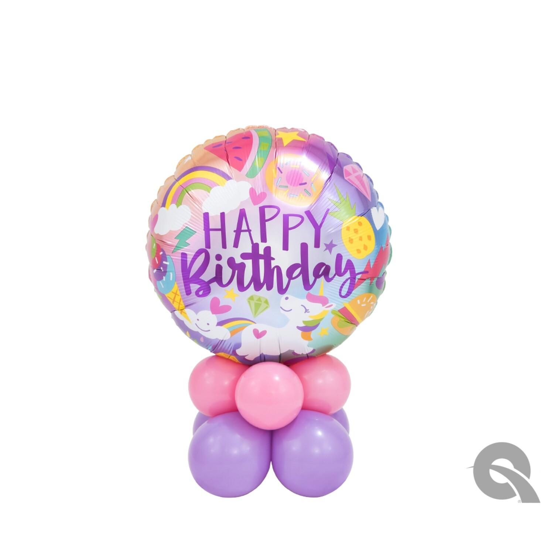 Happy Birthday Unicorn Balloon Bouquet Designs