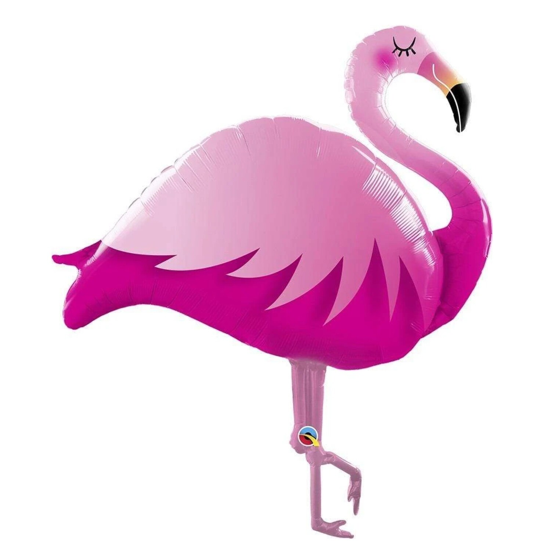 "46"" Pink Flamingo Shape Balloon"