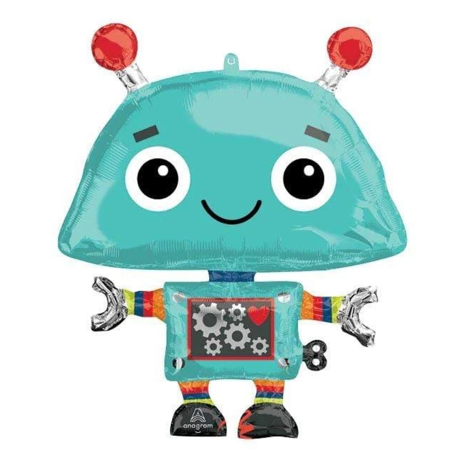 "29"" Robot Supershape XL Balloon"