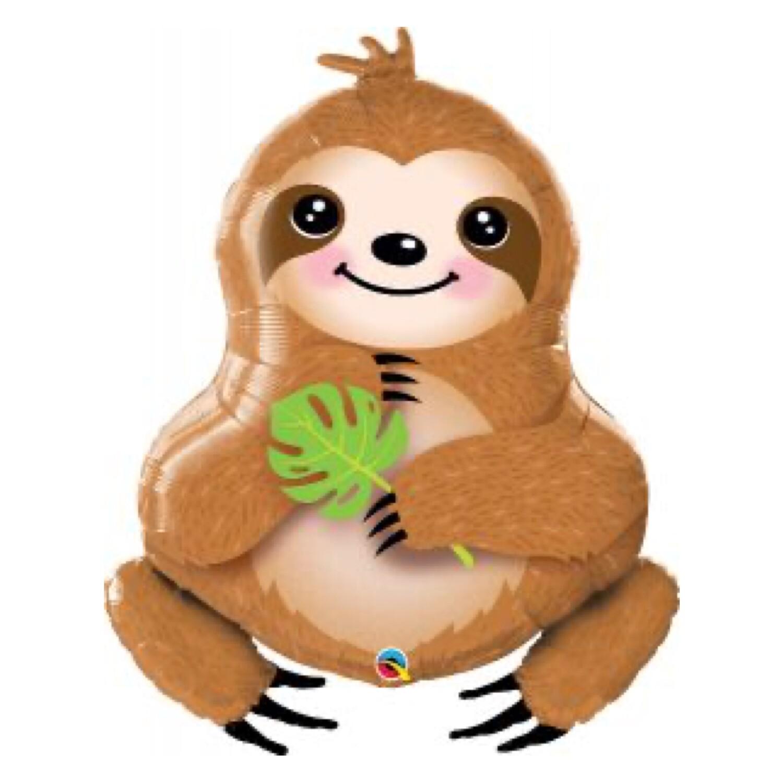 """39"""" Sweet Sloth Shape Balloon"""