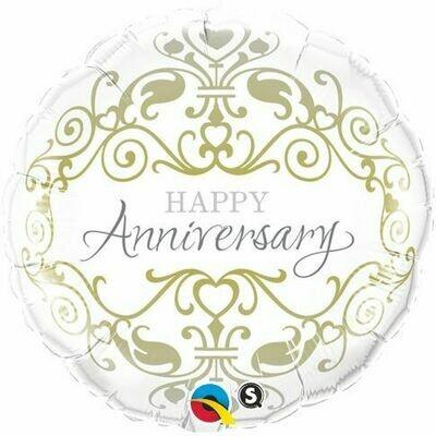 "18"" Anniversary Classic Balloon"