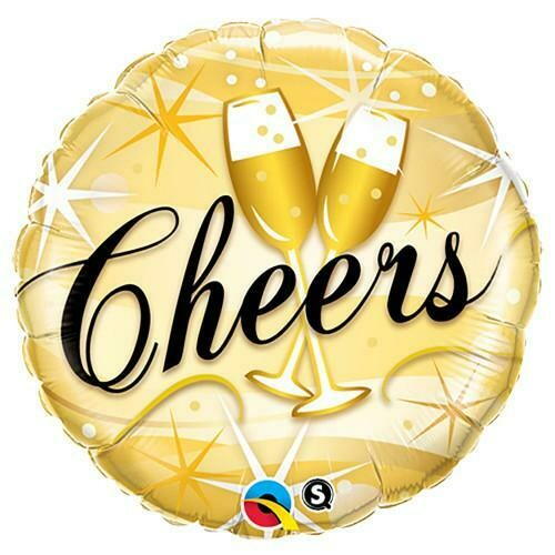 """18"""" Cheers Starburst Balloon"""