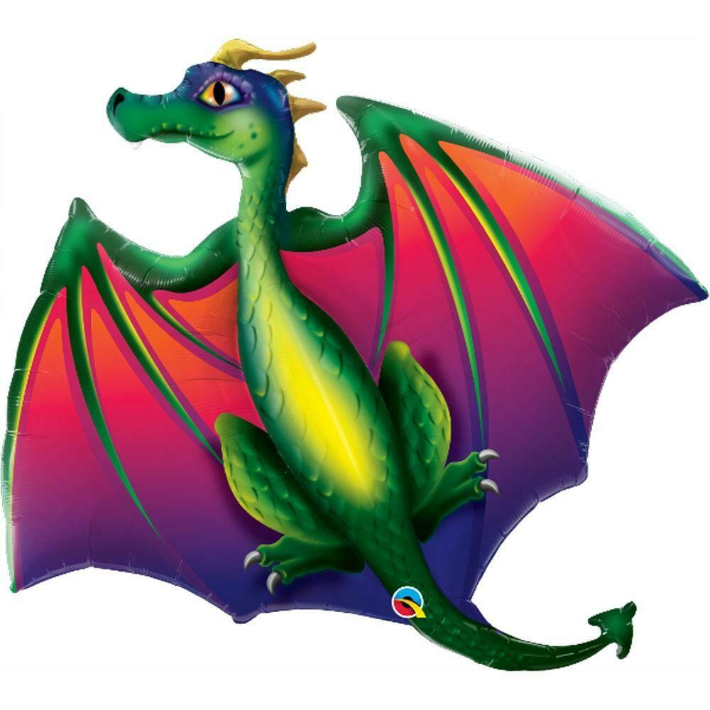 "45"" Mythical Dragon XL Shape Balloon"