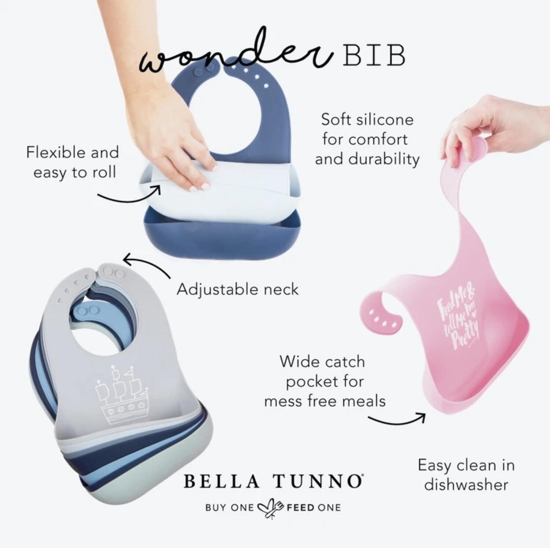 Bella Tunno Wonder Silicone Bib