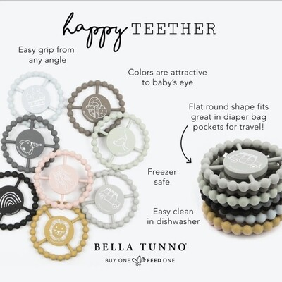 Teether by Bella Tunno