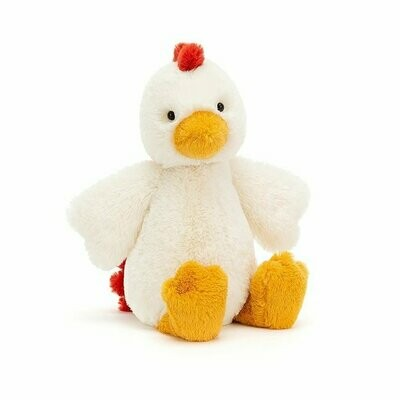 Jellycat Bashful Chicken Small