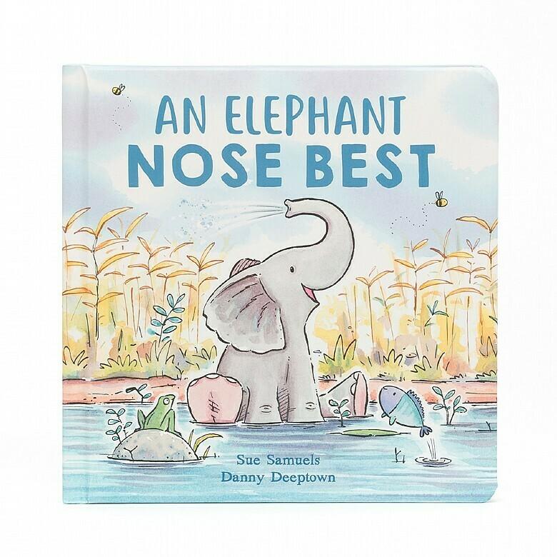 Jellycat Book An Elephant Nose Best