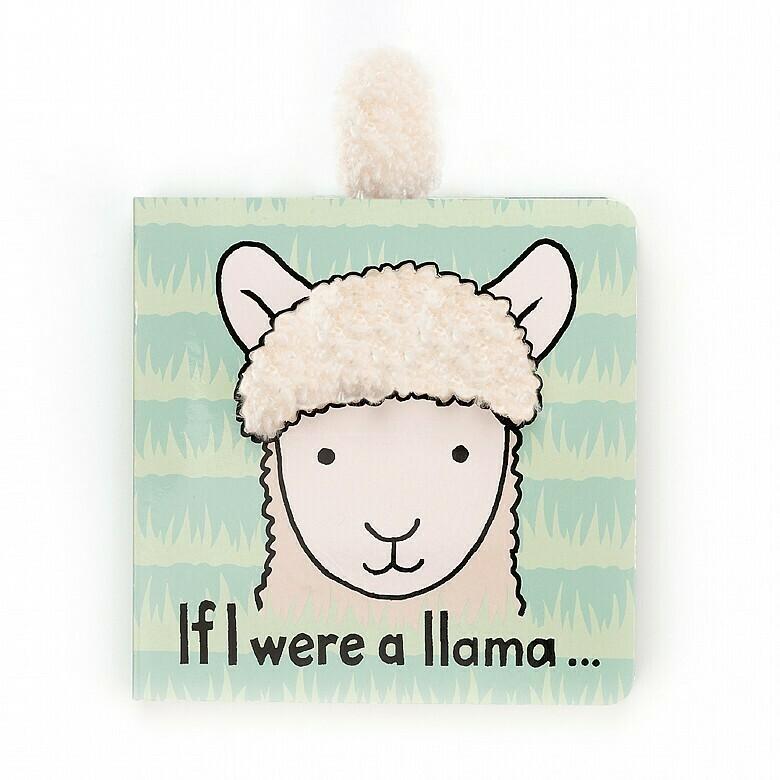Jellycat Book If I were a Llama