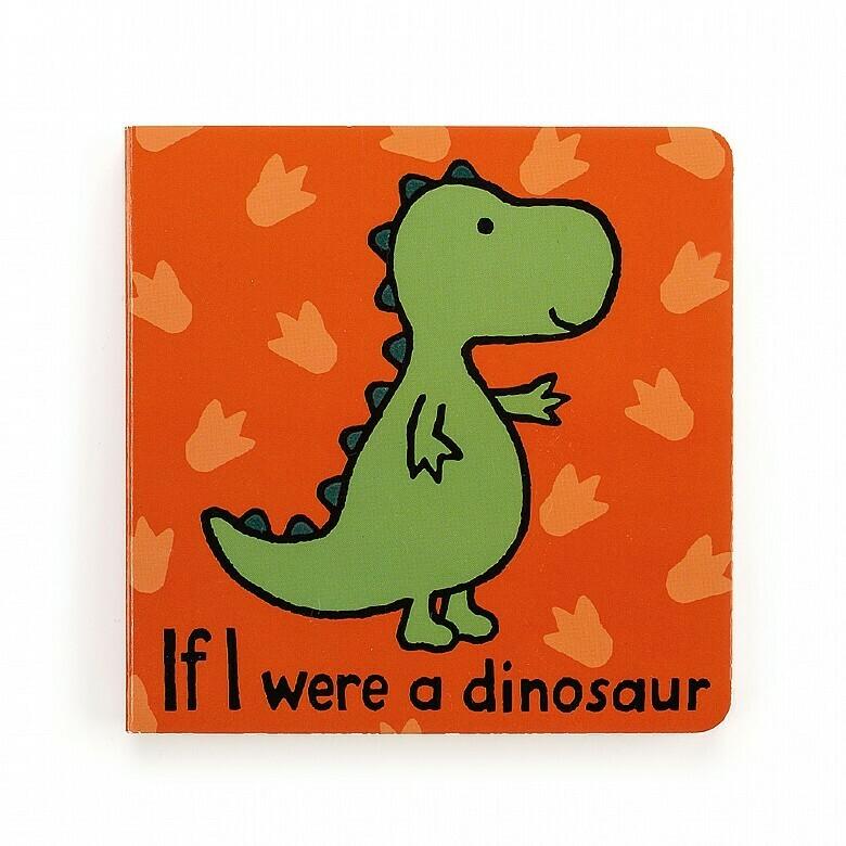 Jellycat Book If I were a Dinosaur