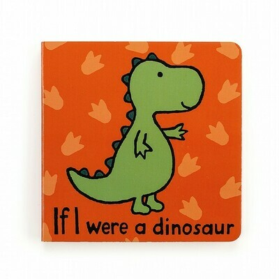 Jellycat Book If I were a Dinosaur