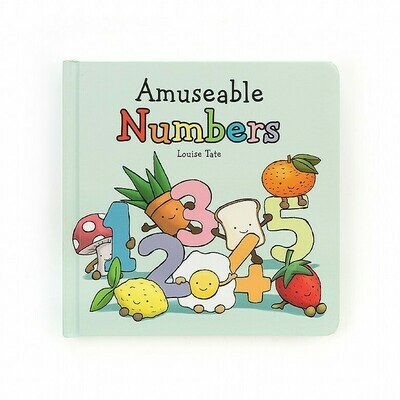 Jellycat Book Amusable Numbers Book