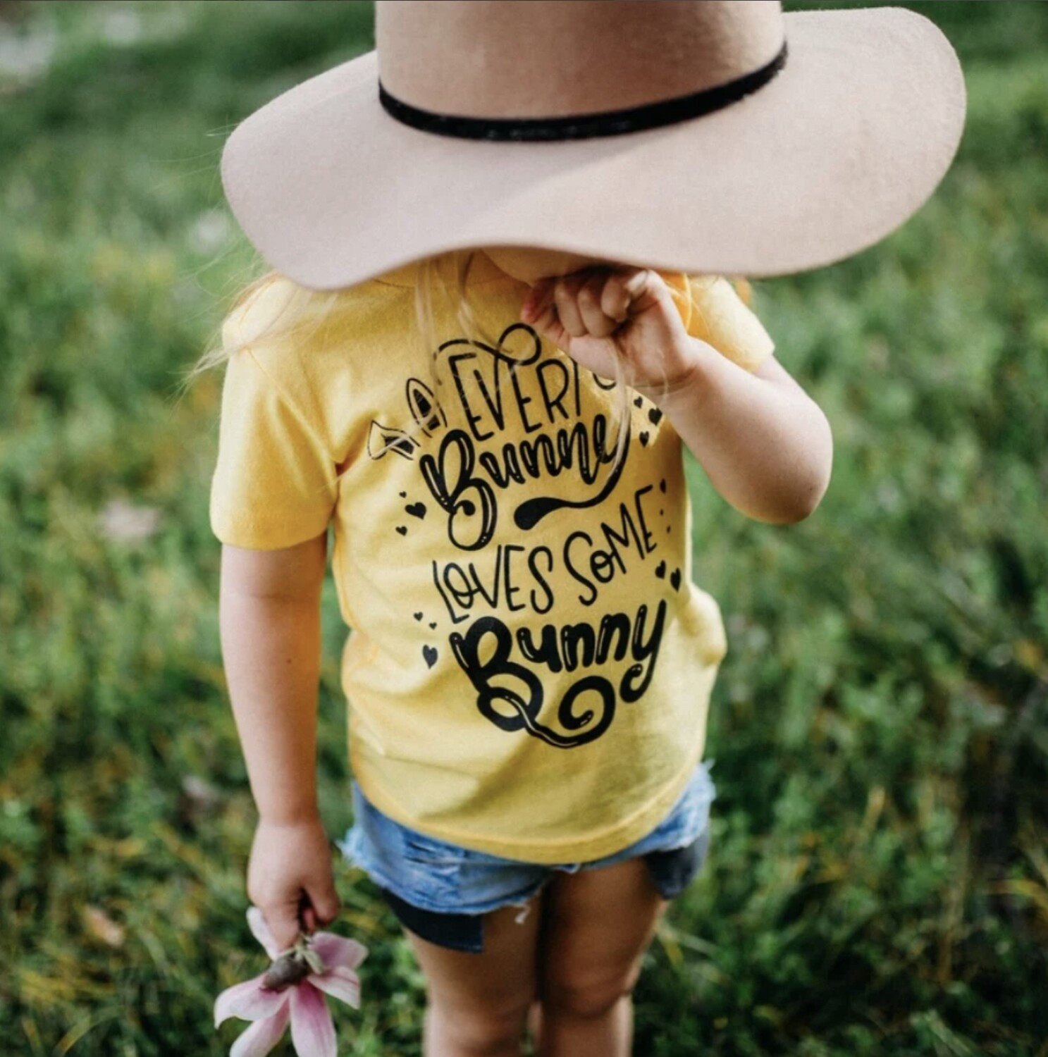 Every Bunny Loves Some Bunny Kids Tee