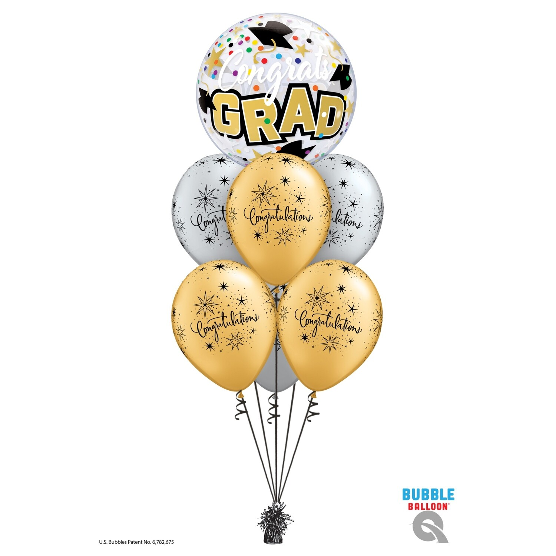 Congratulations Grad Balloon Bouquet Designs