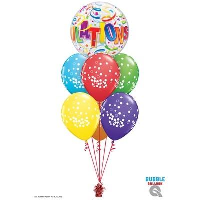 Congratulations Balloon Bouquet Designs