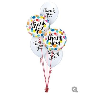 Thank You Balloon Bouquet Designs