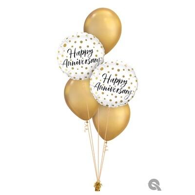 Happy Anniversary Balloon Bouquet Designs