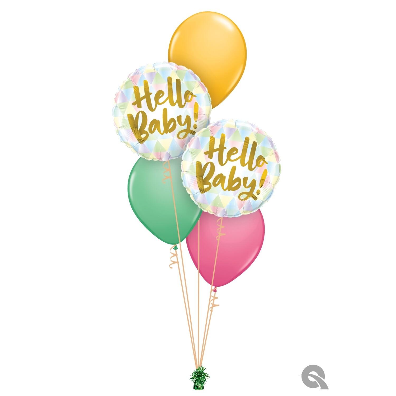 Hello Baby Balloon Bouquet Designs