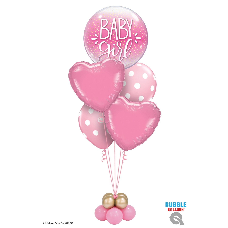 Baby Boy/Girl Dots Balloon Bouquet Designs
