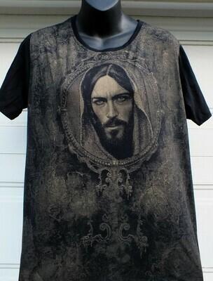 DVE2766 - Men - Face of Jesus Black Tee (2018 Edition)