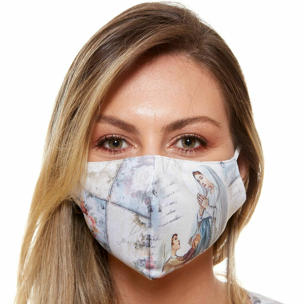MDA6025 - Our Lady of Lourdes Face Mask
