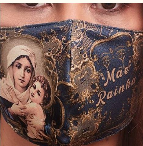 MDA031  Mae Rainha Face Mask