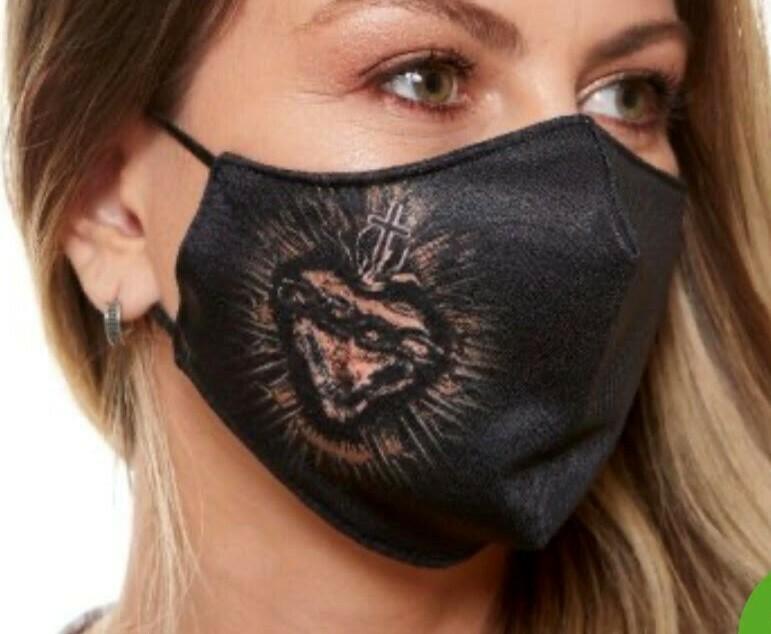 MDA6044 -Sacred Heart Face Mask