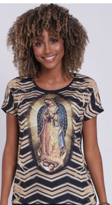 FS4489 - Our Lady of Guadalupe Ladies Shirt