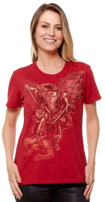 DV4845 - Ladies - Archangel Michael Tee Shirt