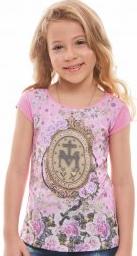 DV3652-Miraculous Medal - Kids Pink Shirt
