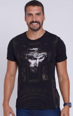 DVE44437- Face of Christ on the Cross-Men's Shirt