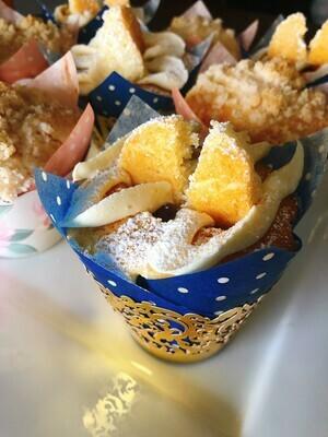 1 Dozen British Victoria Sponge Muffins