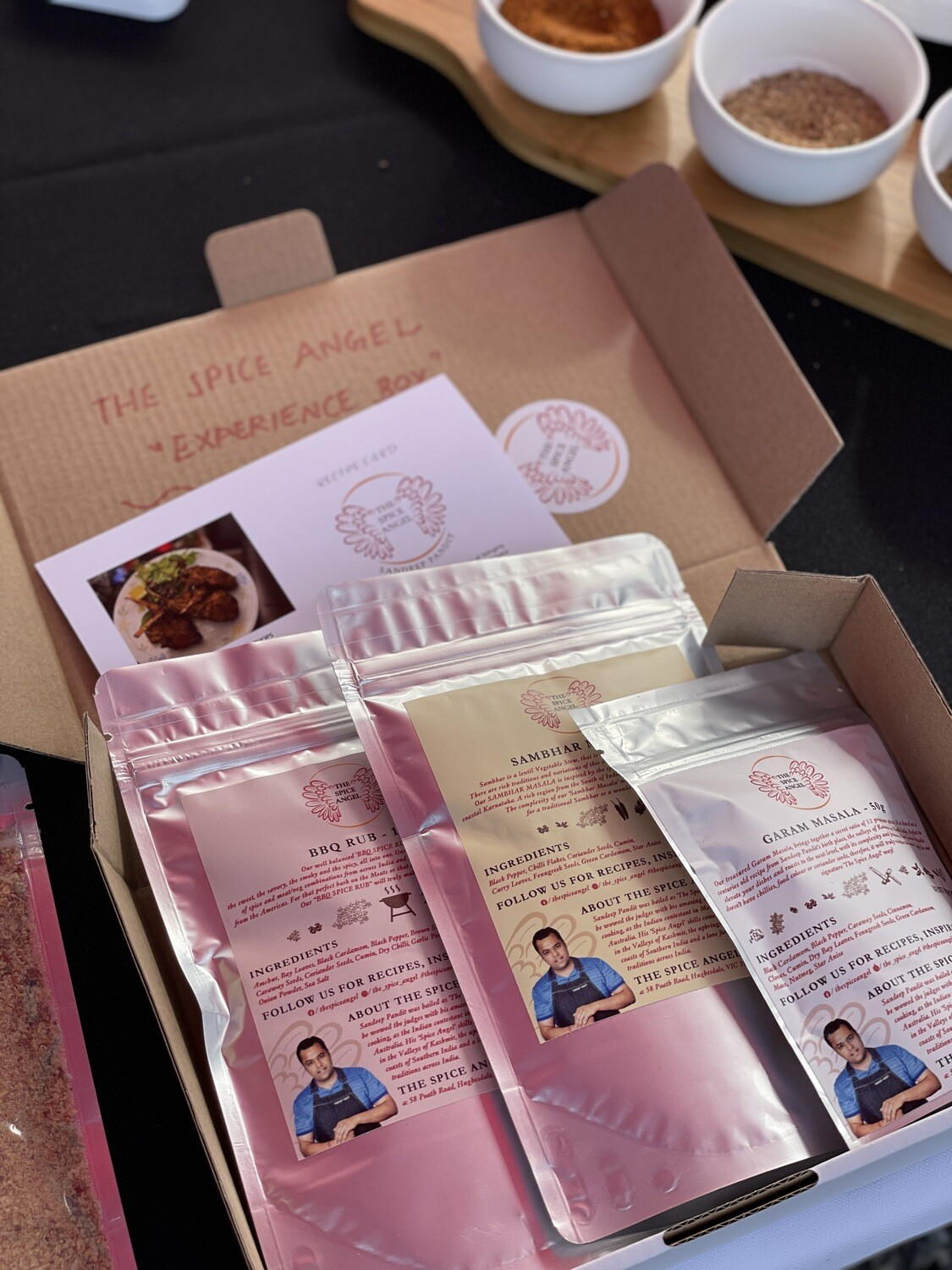 The Spice Angel 'Experience Box'