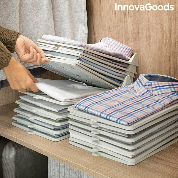 Set of Clothes Organiser Trays Clorack InnovaGoods (Pack of 5)