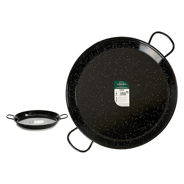 Pan Black Enamelled Steel 30 (70 x 6 x 86 cm)