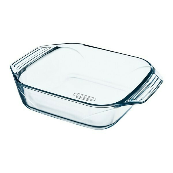Oven Dish Pyrex Irresistible Transparent Glass (29 x 23 cm)