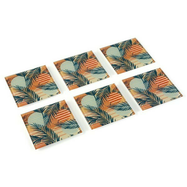 Coasters Saona Crystal (6 pcs)