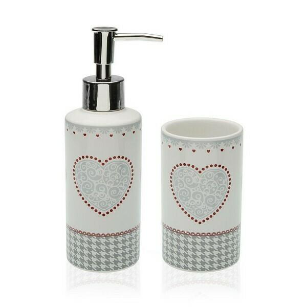 Bath Set Kamira Ceramic